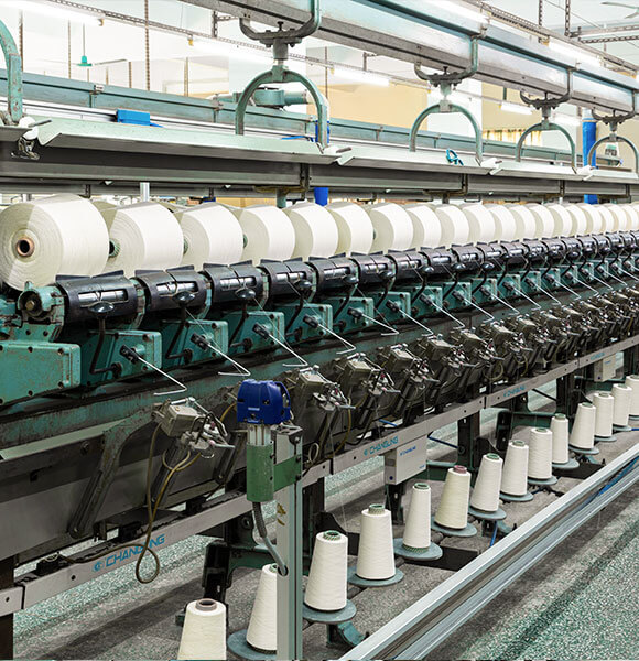 We re roll and re wax the yarns material with professional production lines