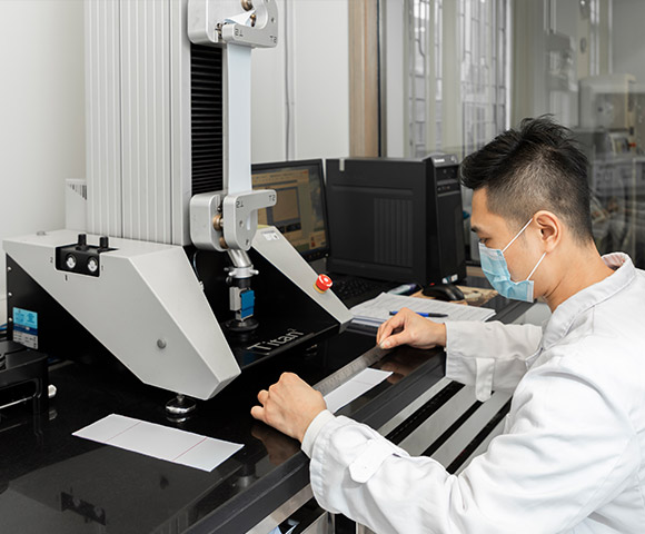 A tester is conducting tests under the AATCC standards