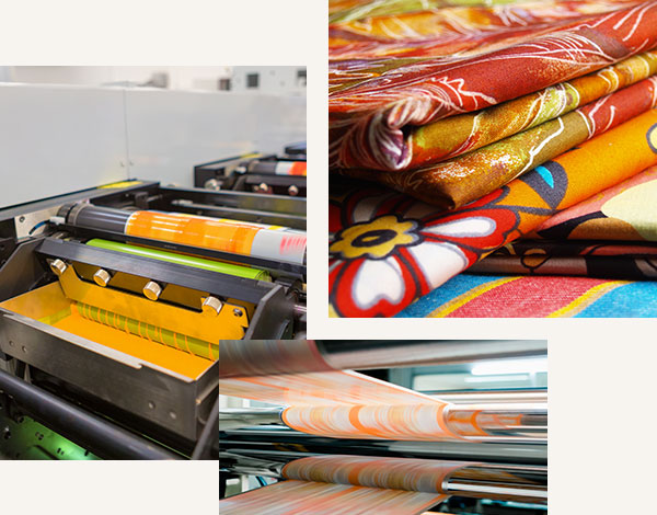 Our rotary screen printing process and products