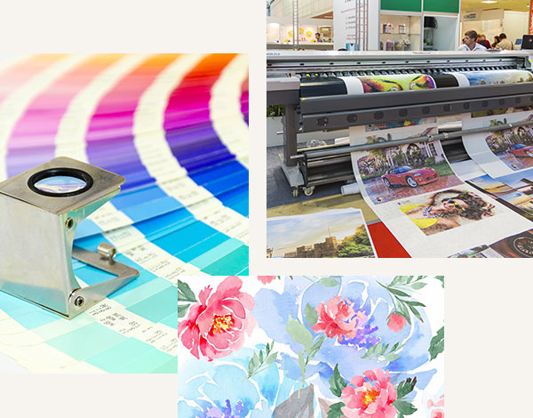 Our digital printing process and products